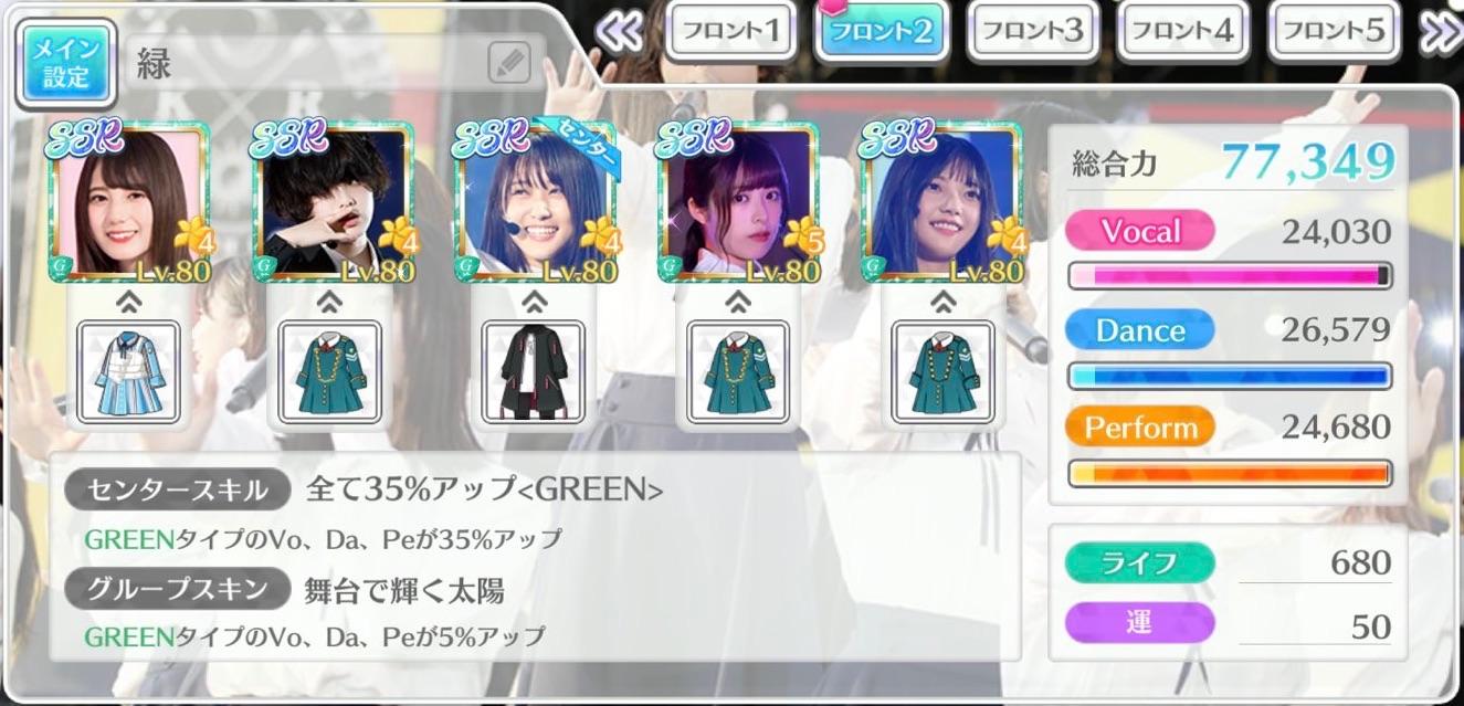 緑パーティ